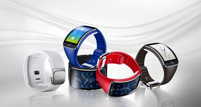 Samsung Gear S Wrist Watch Straps Colors