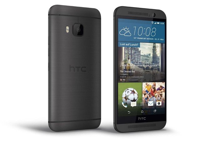 HTC One M9 - black side