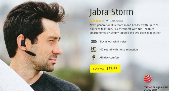 Jabra Storm